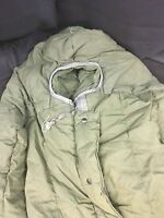 "Extreme Cold Weather OD Green USGI Army Issued Sleeping Bag w/Hood ""Mummy Style"""