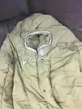 "Extreme Cold Weather OD Green USGI Army Issued Sleeping Bag w/Hood ""Mummy Style"""