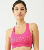 Puma | 4Keeps Women's Sports Bra | Pink | UK Size Large (14)
