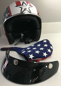 HELD MOTORCYCLE OR SCOOTER HELMET OPEN FACE U.S.A.