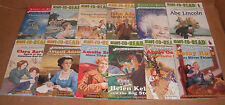 Lot of 12 Ready-to-Read Childhood & Stories of Famous Americans NEW