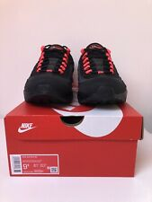 Nike Air Max 95 Laser Crimson Black Red Size 8.5 Brand New Free Delivery