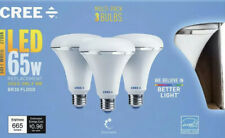 CREE 65W Equivalent Soft White 2700K BR30 Dimmable LED Light Bulb - 3 Pack