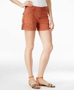 """80% OFF! AUTH SANCTUARY HABITAT ROLL-UP SHORTS WASHED COPPER 34"""" SZ 29 BNWT $32"""