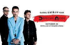 "Depeche Mode ""Global Spirit Tour"" 2017 Vancouver Concert Poster- Synth-pop Music"