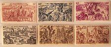 1946-Colonie francesi-Africa Occidentale-Posta Aerea-F.Bolli del Tchad-MLH*/MNH