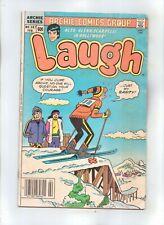 LAUGH COMICS No 387 with ARCHIE, JUGHEAD, KATY KEENE and GLENN SCARPELLI
