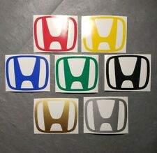 Honda Style Logo Vinyl Decal Sticker Window Bumper For CIVIC ACCORD CRV VTEC SI