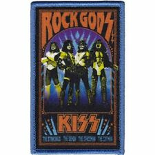 KISS - ROCK GODS - EMBROIDERED PATCH - BRAND NEW - MUSIC BAND 4423