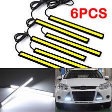 6pz LED Striscia Luce Interni Auto Esterni per l'Interno Luce di marcia diurna
