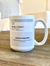 Trump Suspended Coffee Mug