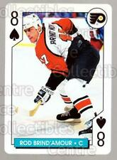 1996-97 NHL Aces Playing Card #47 Rod Brind'Amour