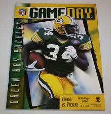 Green Bay Packers Program Magazine | November 5 1995 | Edgar Bennett
