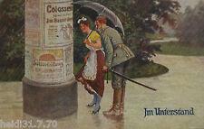 Reklame, Werbung, Litfaßsäule, 1917 aus Auerbach (18918)