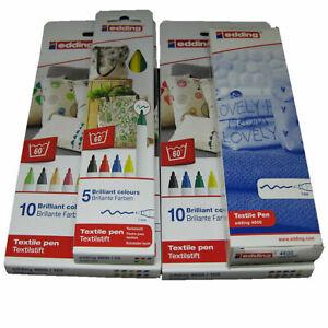 4600-005 Rundspitze 1 mm gelb Edding 4600 Textilmarker 4004764023189