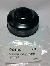06136 Steelman 64MM 14 Flutes Oil Filter Cap Wrench