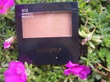 REVLON PRESSED UTRA-SOFT SILKY POWDER BRONZER WITH BLUSH, #012 BRONZILLA