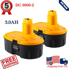 2X 3.0AH New FOR DEWALT XRP 18V BATTERY DC9096-2 DE9039 DW9095 DE9096 DW9099 - A
