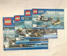 CITY LEGO Set INSTRUCTION MANUALS ONLY Lot of 4 60130 60129 Series