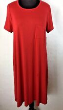LulaRoe XL Extra Large True Red Carly #C324  BUY ANY TWO GET 10% OFF
