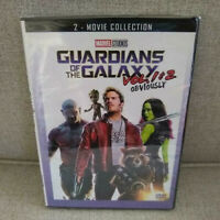 Guardians of the Galaxy Vol. 1 & Vol. 2  DVD (2 Movie Bundle)  New, Sealed Combo