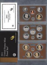 2011-S U.S. MINT PROOF SET...14 COINS...WITH OGP/BLACK & BROWN BOX...COA