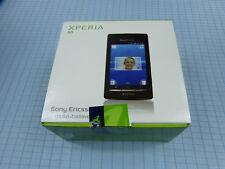 Sony Ericsson Xperia x8 e15i noir/gris! NOUVEAU & NEUF dans sa boîte! Inutilisé! Sans Simlock!