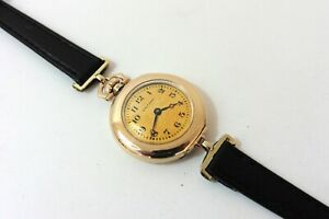 c.1915 LADIES WALTHAM PATENTED TRANSITIONAL WRISTWATCH IN EXCELLENT CONDITION