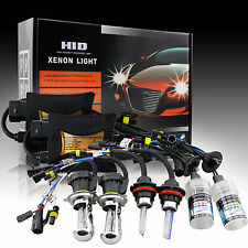 55W Xenon HID Kit Headlight Lamp Bombillas H7 H1 H3 H11 H10 4300 5000 6000 8000K