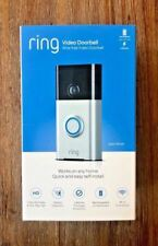 BRAND NEW Ring Doorbell HD Wi-Fi Video Doorbell Smart Doorbell Satin Nickel 720P