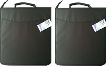Twin Pack of Black Fabric CD208 CD Holder Holds 208 CD or DVD Discs