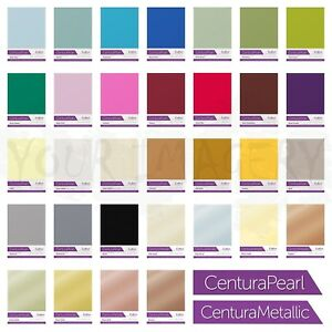 Crafters Companion Centura Pearl & Centura Metallic Single Sided A4 Card 10 Pack