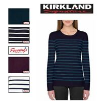 *NEW!* Kirkland Signature Ladies' Crewneck Sweater VARIETY Size an Color!