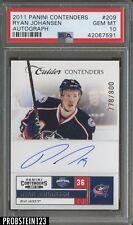 2011 Panini Contenders #209 Ryan Johansen Autograph PSA 10