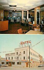 c1960 The Falls Room, Central Hotel, Dryden, Ontario, Canada Postcard