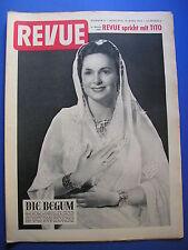REVUE Nr.11/1953 *ZEITSCHRIFT*KINDERMORD IN NIEDERSACHSEN*STALIN*TITO*BEGUM
