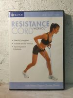 Resistance Cord Workout - DVD Gaiam  Fitness Expert Charles Shand - NON IMPACT