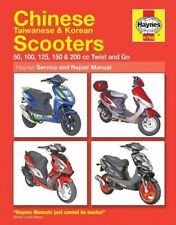 NEW Haynes Manual Chinese,Taiwanese,Korean Scooters 50cc to 125cc Twist & Go
