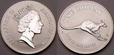 1994 Australia KANGAROO $1 ONE DOLLAR -1 oz oncia 999 silver LINGOTTO D'ARGENTO