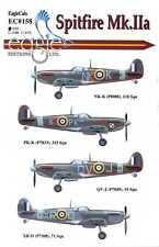 EagleCals Decals 1/32 SUPERMARINE SPITFIRE Mk.IIa British Fighter