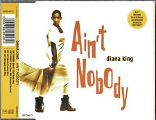 "DIANA KING - 5"" CD - Ain't Nobody (David's Club Radio Mix) + Shy Guy. Remixes."