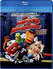 NEW BLU RAY+DVD COMBO- THE MUPPETS TAKE MANHATTAN - DABNEY COLEMAN , JOAN RIVER
