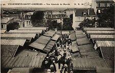 CPA Villeneuve-Saint-Georges - Vue Generale du Marche (390450)