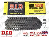 DID Standard Chain 428D 138 links fits Hyosung GT125 R Comet 09-12