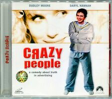 1990 Crazy People - Dudley Moore, Daryl Hannah Original Video CD VCD Set Rare!