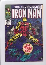 Iron Man #1, May 1968, Marvel Comics, 1st solo ish/ origin remaindered complete