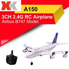 WLtoys A150 Airbus B747 Model 3CH 2.4G RC Airplane Glider + Camera HD RTF