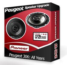 PEUGEOT 306 porte haut-parleurs Pioneer voiture haut-parleurs 240 W