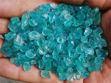 Natural High-quality Blue Apatite Rough Gem Specimen 130pcs or so 50g  LHSY7013