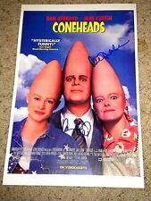 """CONEHEADS"" DAN AYKROYD KEVIN NEALON SIGNED 11x17 mini poster coa"